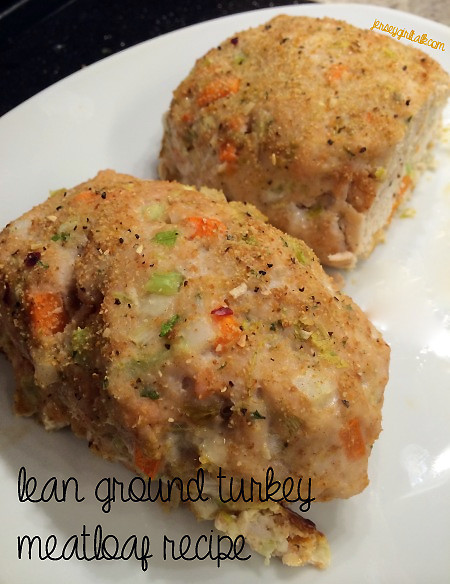 Low Fat Meatloaf  Healthy High Protein Low Fat lean turkey and Ve able