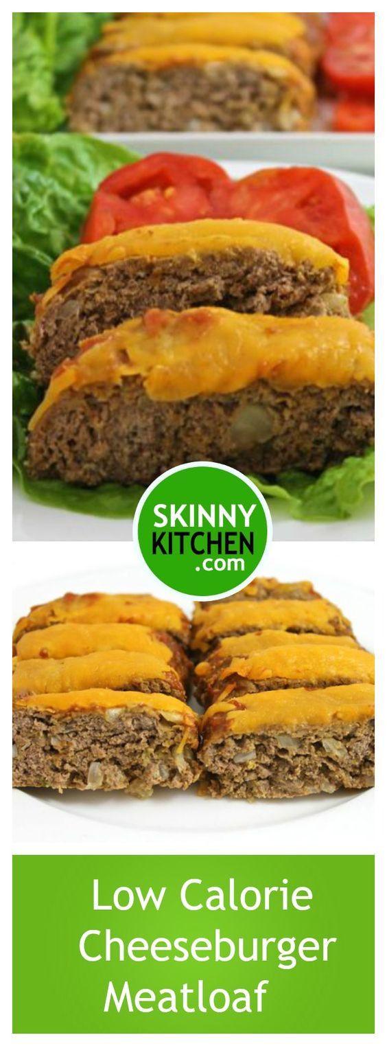 Low Fat Meatloaf  Cheeseburger meatloaf Cheeseburgers and Recipe on Pinterest