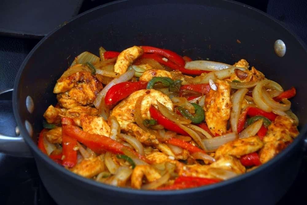 Low Fat Mexican Recipes  Low Fat Chicken Fajitas