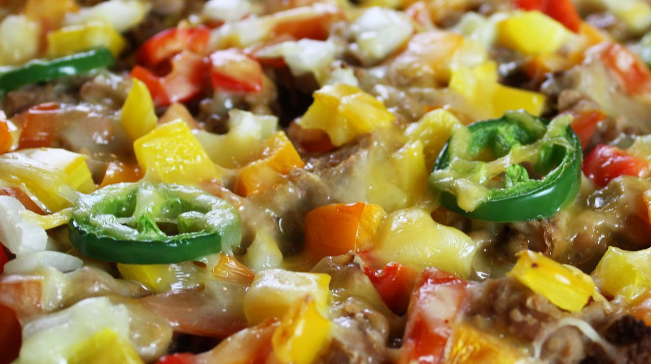 Low Fat Nachos  Nachos for Dinner Healthy Low fat
