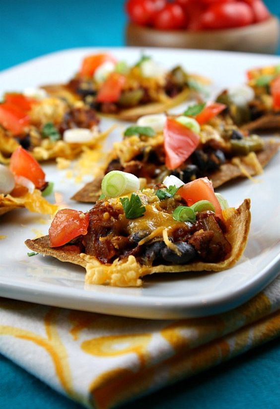 Low Fat Nachos  LOW FAT Nachos Supreme recipe perfect for those who are