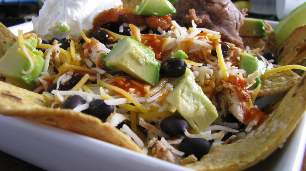 Low Fat Nachos  Loaded Baked Nachos – The Healthy Way