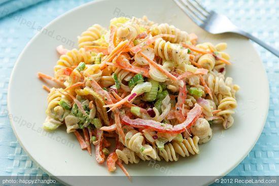 Low Fat Pasta Salad  Low Fat Creamy Pasta Salad Recipe