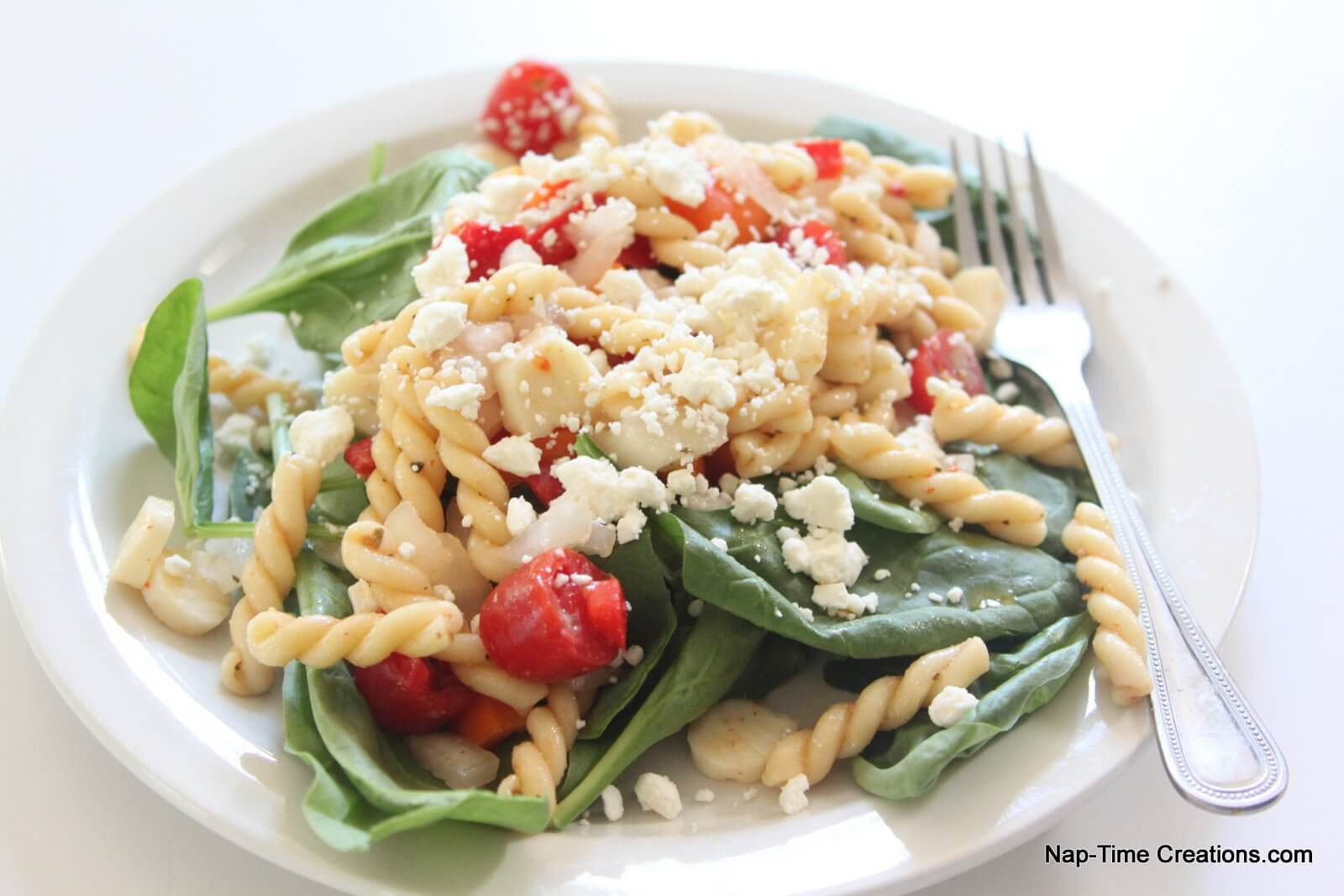 Low Fat Pasta Salad  Low Fat Pasta Salad with Ve ables Life Sew Savory