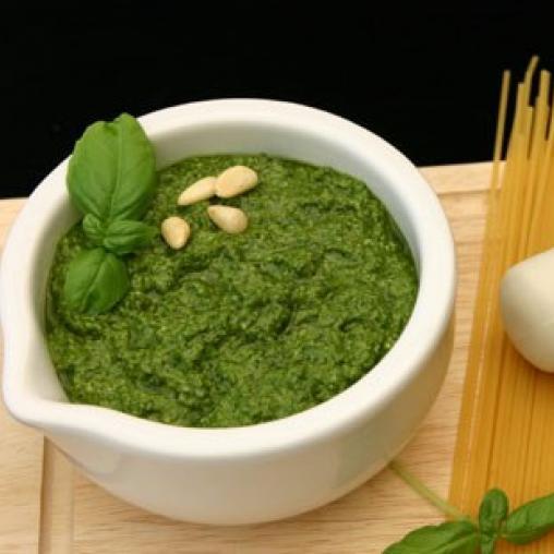 Low Fat Pesto Sauce  Low fat basil pesto