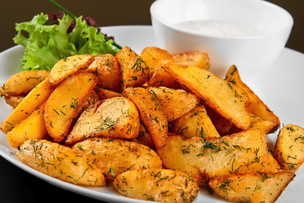 Low Fat Potato Recipes  Low Fat Potato Wedge recipe Healthy Cooking