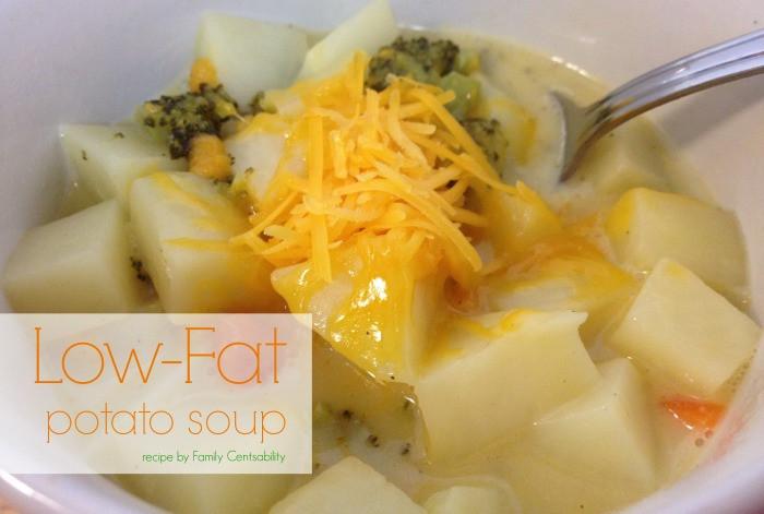 Low Fat Potato Recipes  Low Fat Potato Soup Recipe