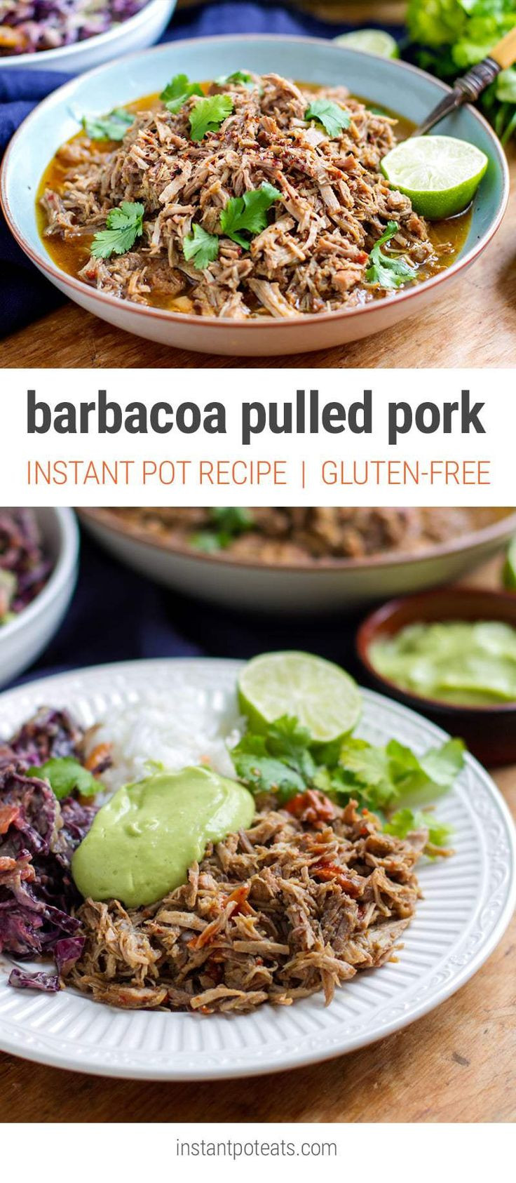 Low Fat Pressure Cooker Recipes  Barbacoa Inspired Pulled Pork Instant Pot