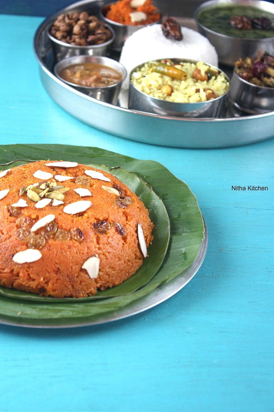 Low Fat Pressure Cooker Recipes  Gajar Ka Halwa
