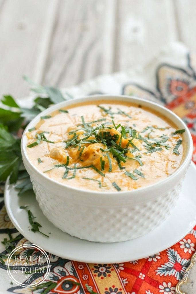 Low Fat Pressure Cooker Recipes  Low Carb Pressure Cooker Buffalo Chicken Soup