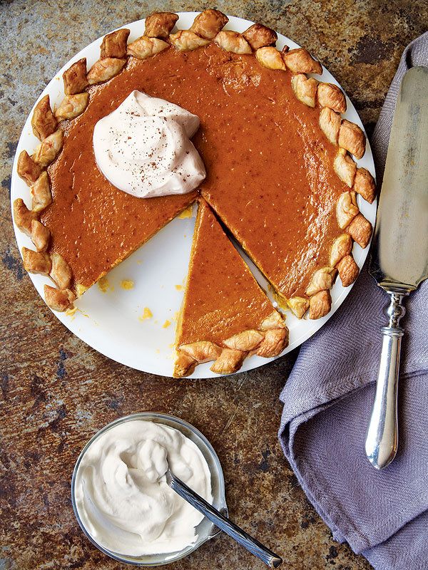 Low Fat Pumpkin Pie Recipe  Recipe Low Fat Pumpkin Pie with Vanilla Whipped Cream