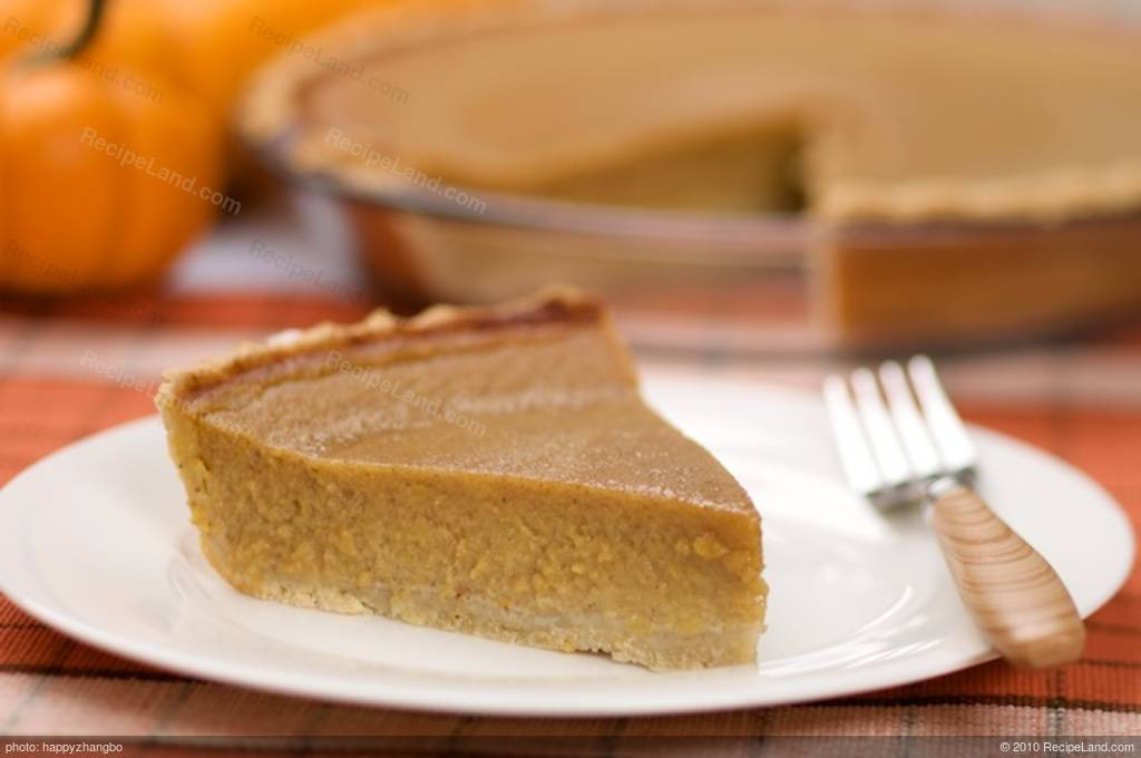 Low Fat Pumpkin Pie Recipe  Classic Low Fat Pumpkin Pie Recipe