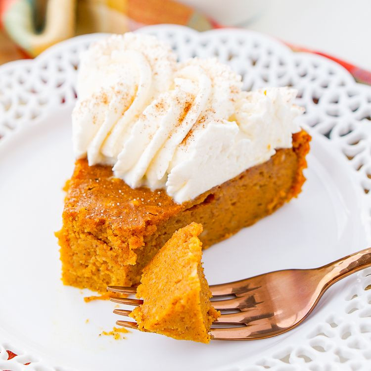Low Fat Pumpkin Pie Recipe  Low Fat Crustless Pumpkin Pie Games