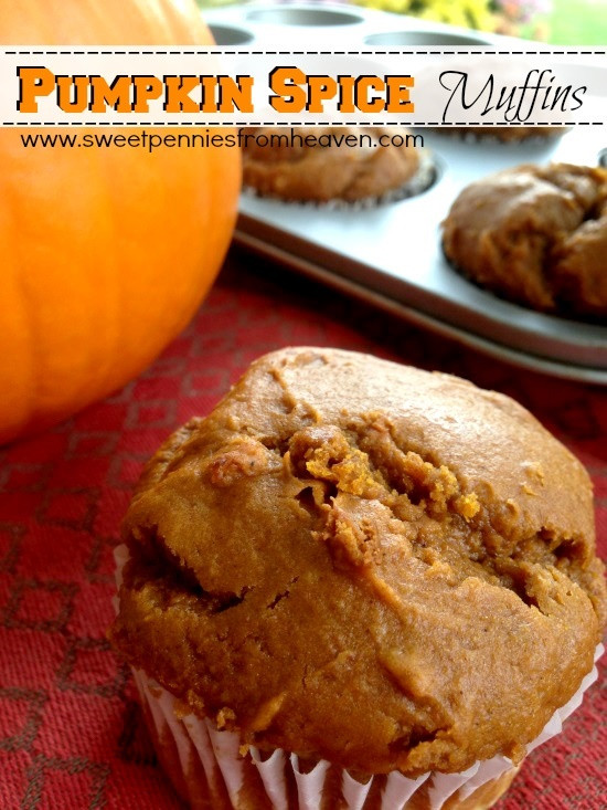 Low Fat Pumpkin Recipes  Low Fat Pumpkin Muffins Recipe ONLY 2 Ingre nts