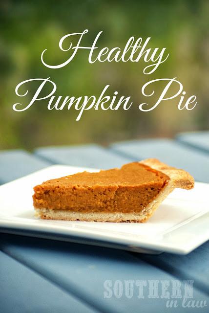 Low Fat Pumpkin Recipes  Southern In Law Healthy Pumpkin Pie Recipe