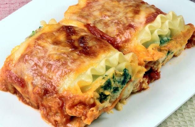 Low Fat Recipes  Low Fat Spinach Lasagna Recipe