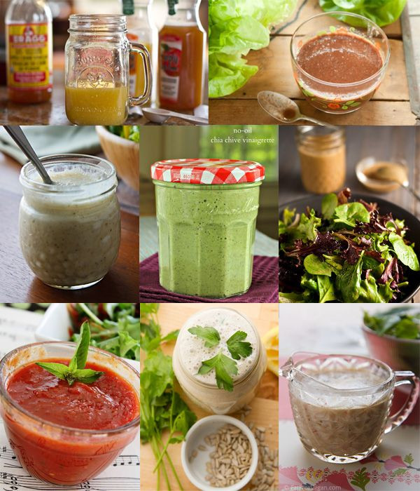 Low Fat Salad Dressing Recipes  8 best images about Low Fat Vegan Salad Dressings on