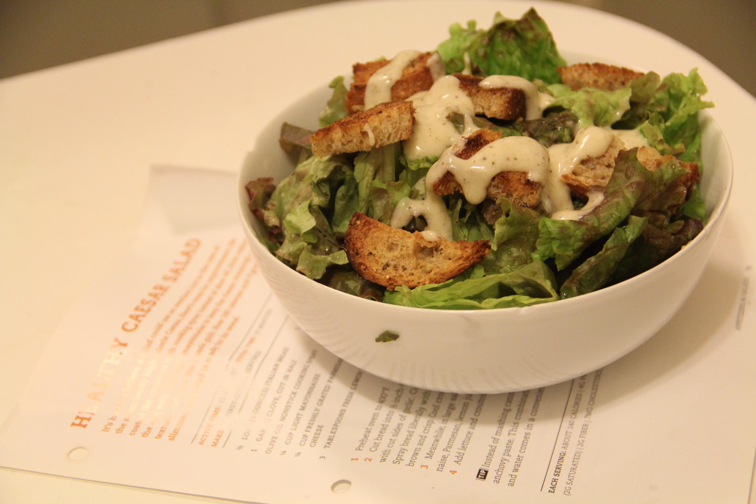 Low Fat Salad Dressing Recipes  Low Fat Caesar Salad Dressing