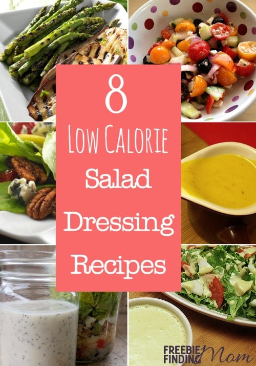 Low Fat Salad Recipes  8 Low Calorie Salad Dressing Recipes