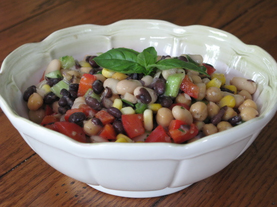 Low Fat Salad Recipes  Low Fat Bean Salad Recipe Genius Kitchen