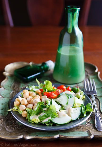 Low Fat Salad Recipes  8 best images about Low Fat Vegan Salad Dressings on
