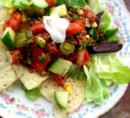 Low Fat Salad Recipes  Ve arian Taco Salad Low Fat Recipe Food