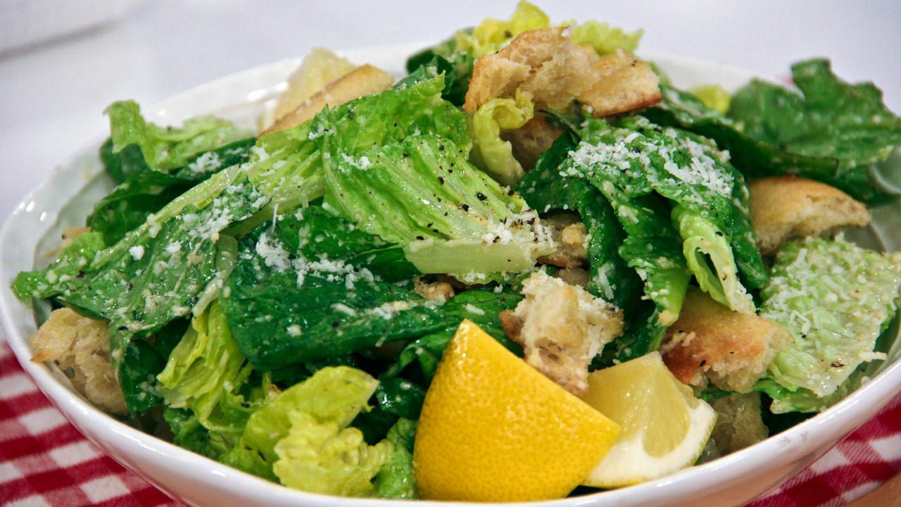 Low Fat Salads  Low Fat Italian Caesar Salad Steven and Chris