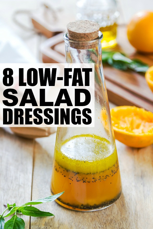 Low Fat Salads  8 easy to make low fat salad dressings