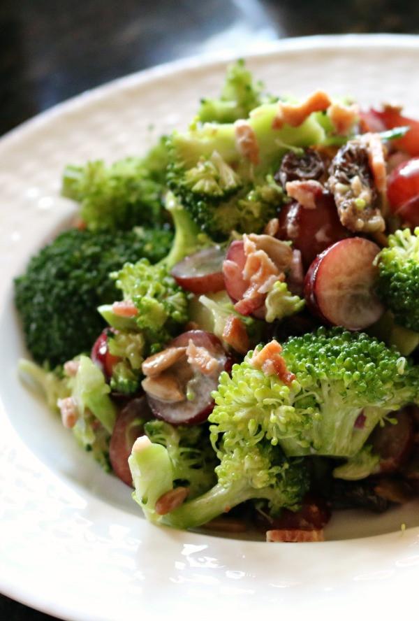 Low Fat Salads  Low Fat Broccoli Salad