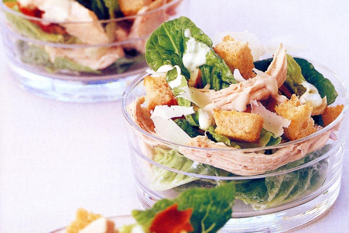Low Fat Salads  Low fat chicken Caesar salad Recipes delicious