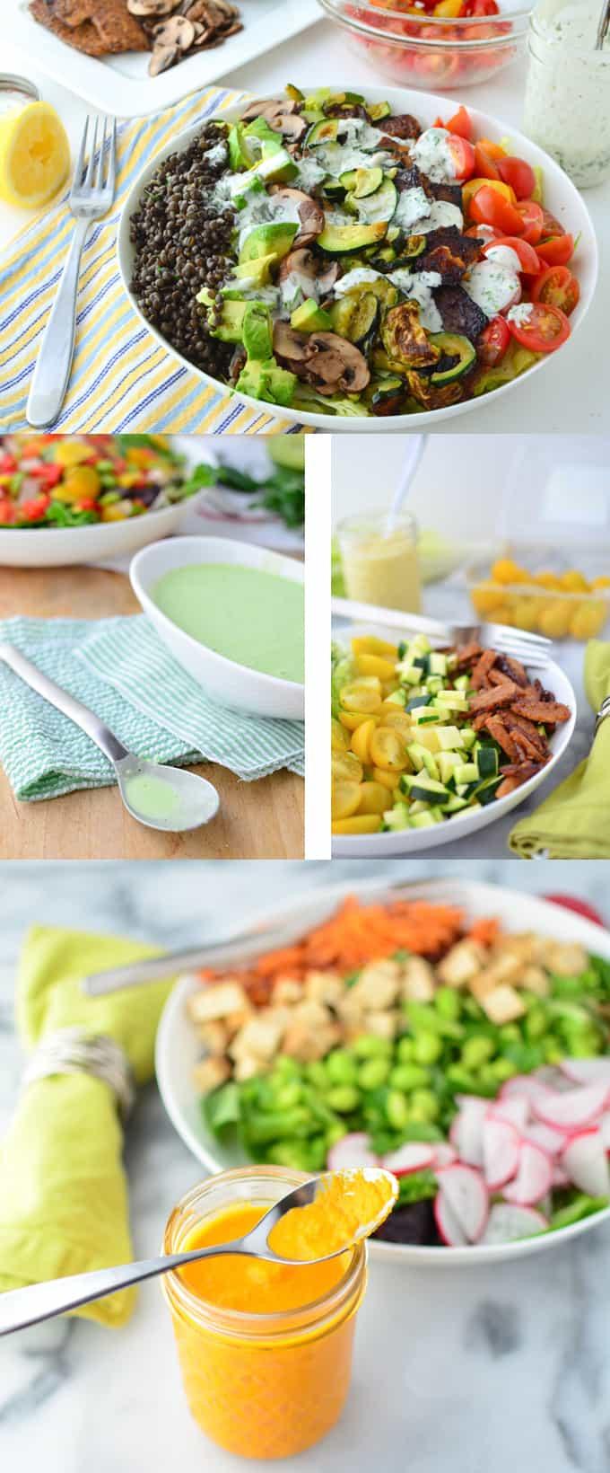 Low Fat Salads  Low Fat Salad Dressings Wild Anal