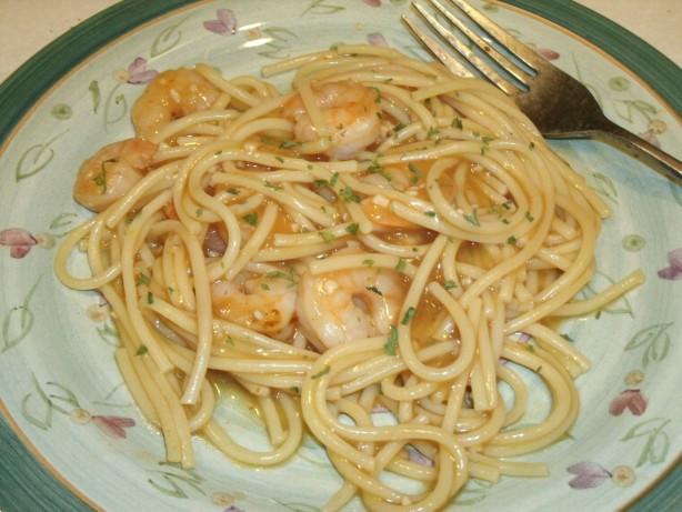 Low Fat Shrimp Recipes  Garlic Shrimp And Pasta Low Fat Recipe Recipe Food