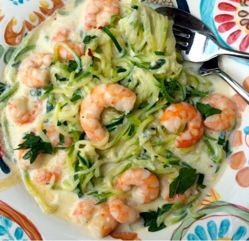 Low Fat Shrimp Recipes  Low Cal Shrimp Alfredo