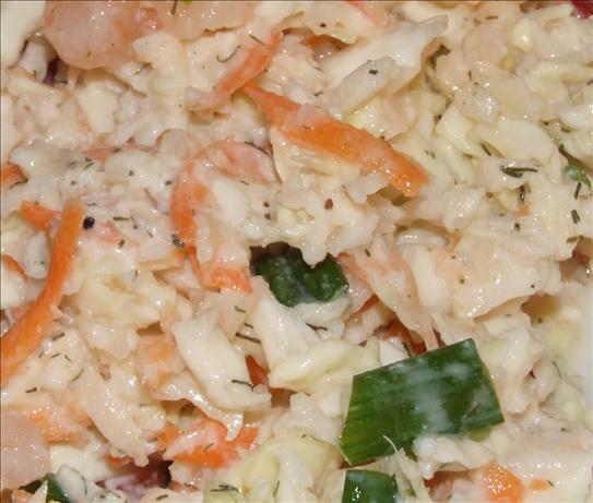 Low Fat Shrimp Recipes  Low Fat Shrimp Crab Coleslaw Recipe Food