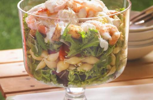 Low Fat Shrimp Recipes  10 Best Low Fat Shrimp Salad Recipes