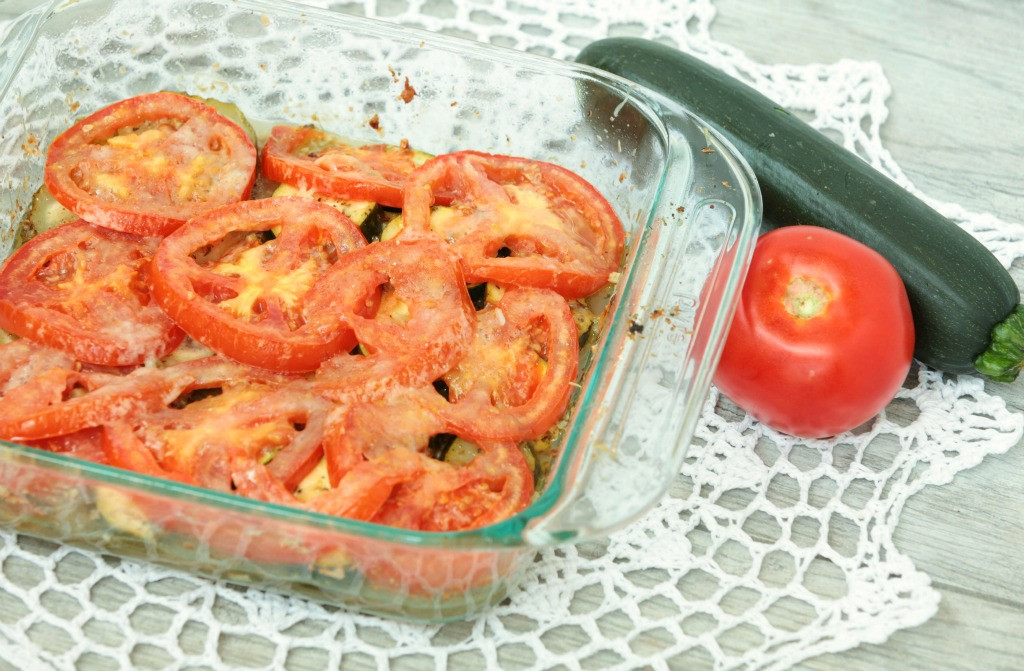 Low Fat Side Dishes  Zucchini Tomato Casserole Food Done Light