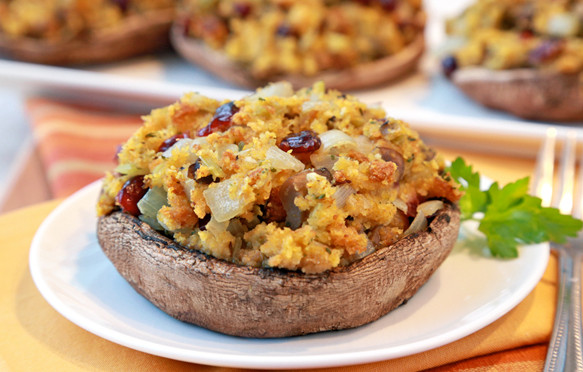 Low Fat Side Dishes  Healthy Holiday Side Dishes Low Fat Stuffed Mushrooms