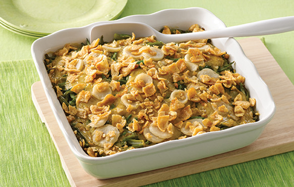 Low Fat Side Dishes  Low Fat Green Bean Casserole Recipe Healthy Holiday Side