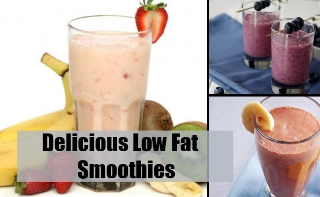 Low Fat Smoothies Healthy and Delicious Low Fat Smoothie Recipes How to