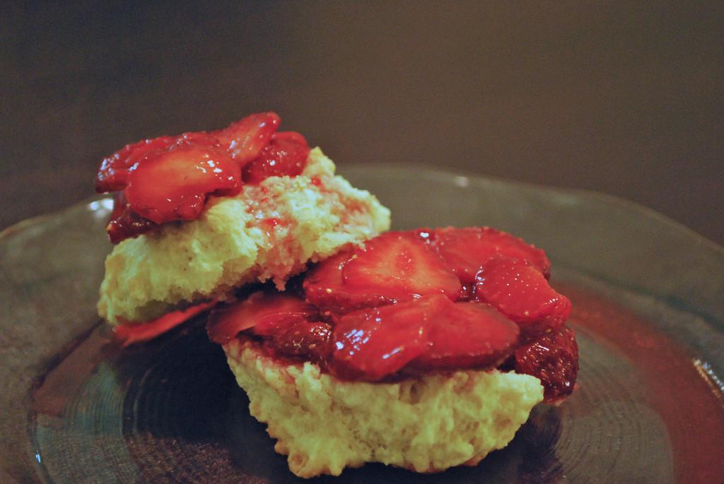 Low Fat Strawberry Shortcake  Low Fat Strawberry Shortcake
