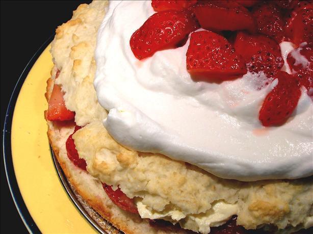 Low Fat Strawberry Shortcake  Simply Sensational Low Fat Strawberry Shortcake Recipe