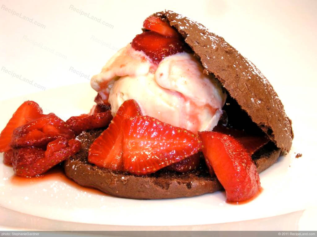 Low Fat Strawberry Shortcake  Low Fat Chocolate Strawberry Shortcake Recipe