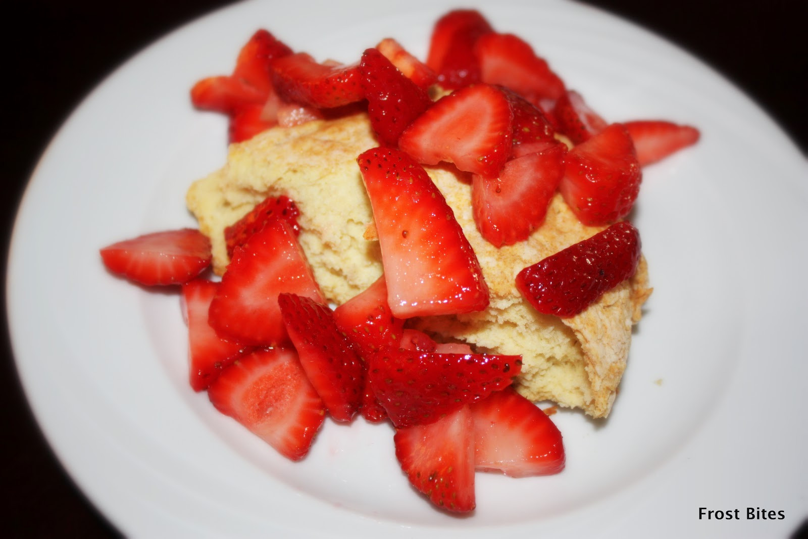 Low Fat Strawberry Shortcake  Frost Bites Healthy Strawberry Shortcake