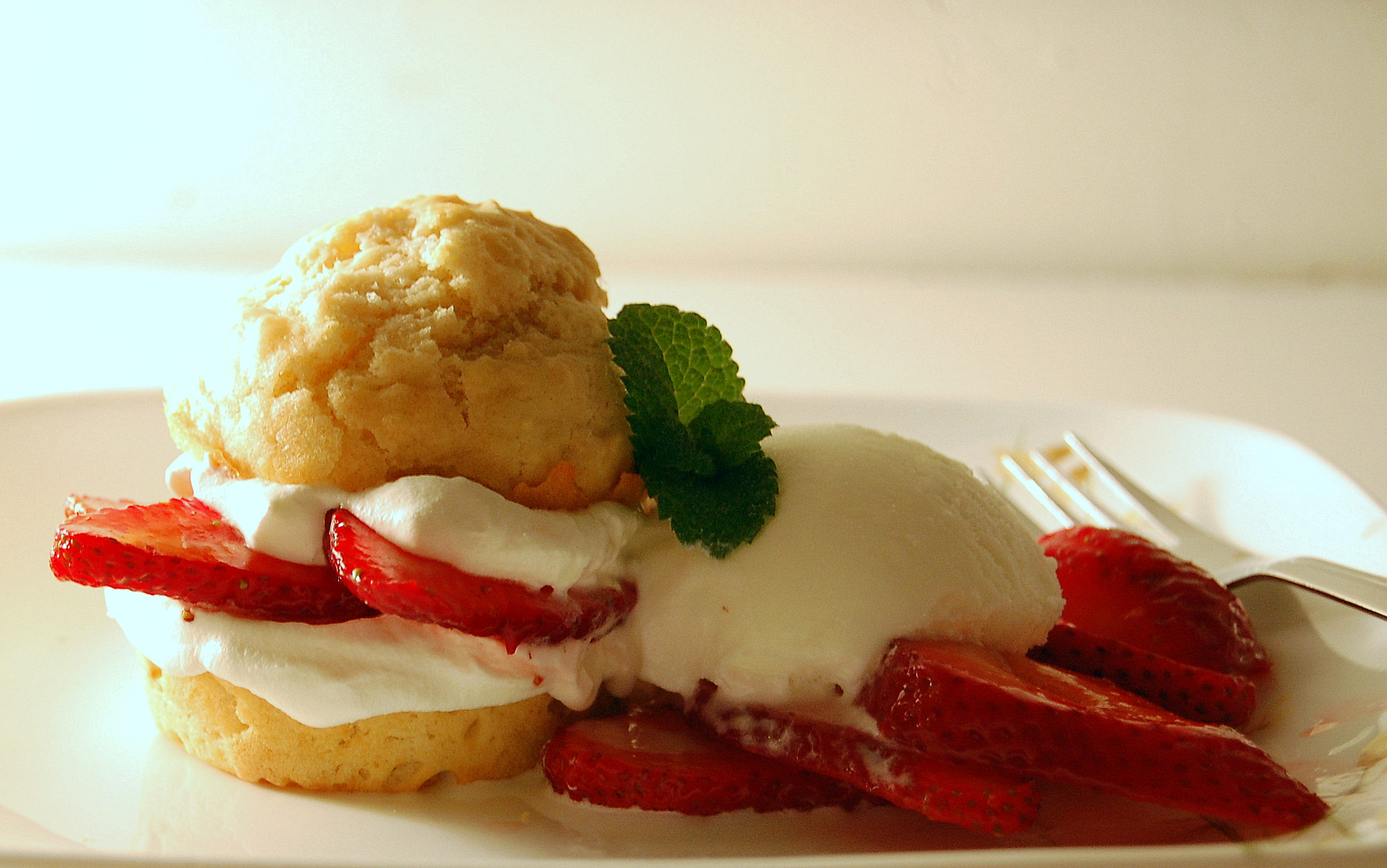 Low Fat Strawberry Shortcake  Strawberry Shortcake