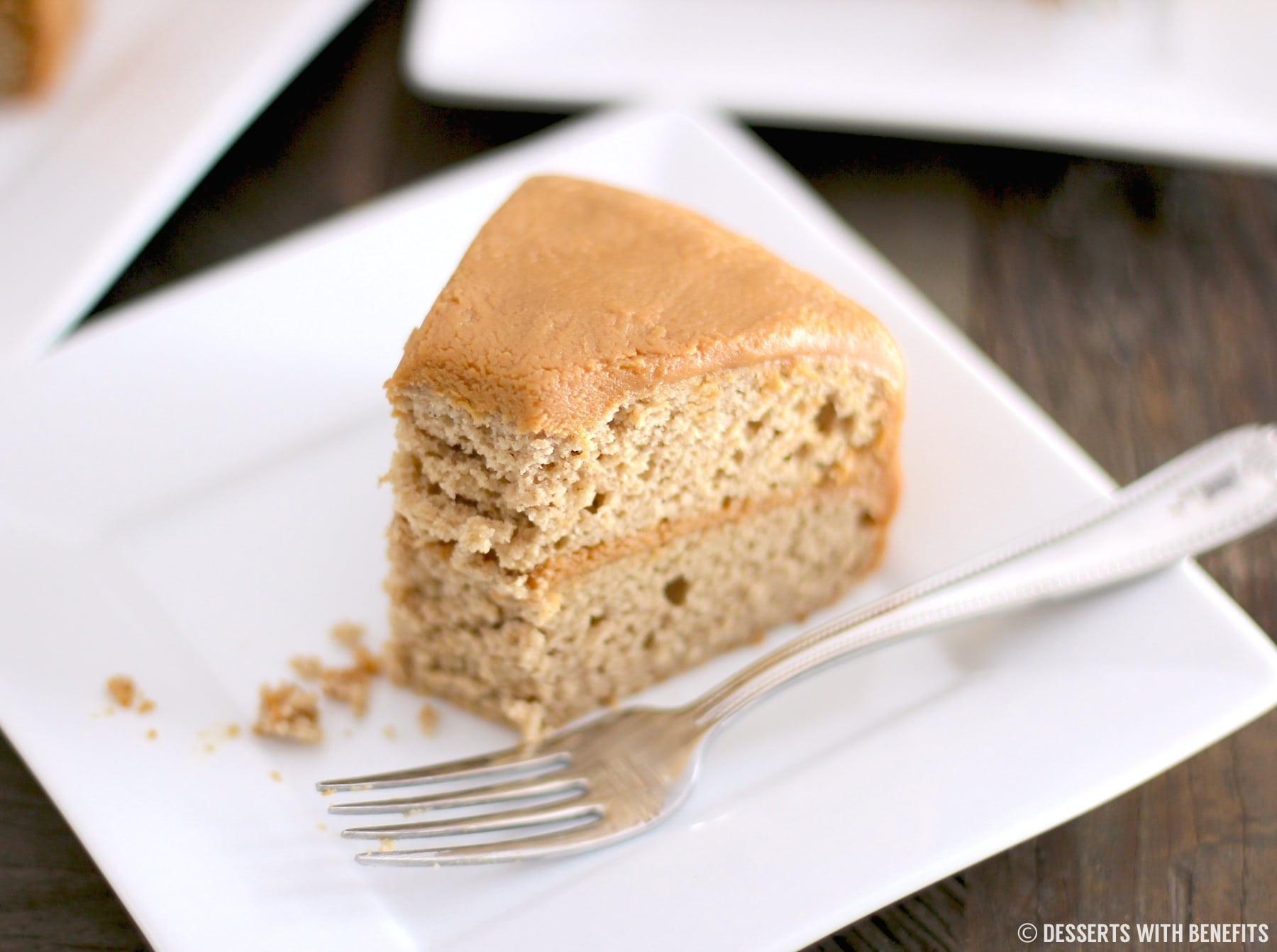 Low Fat Sugar Free Desserts  Healthy Gluten Free Maple Cake Recipe