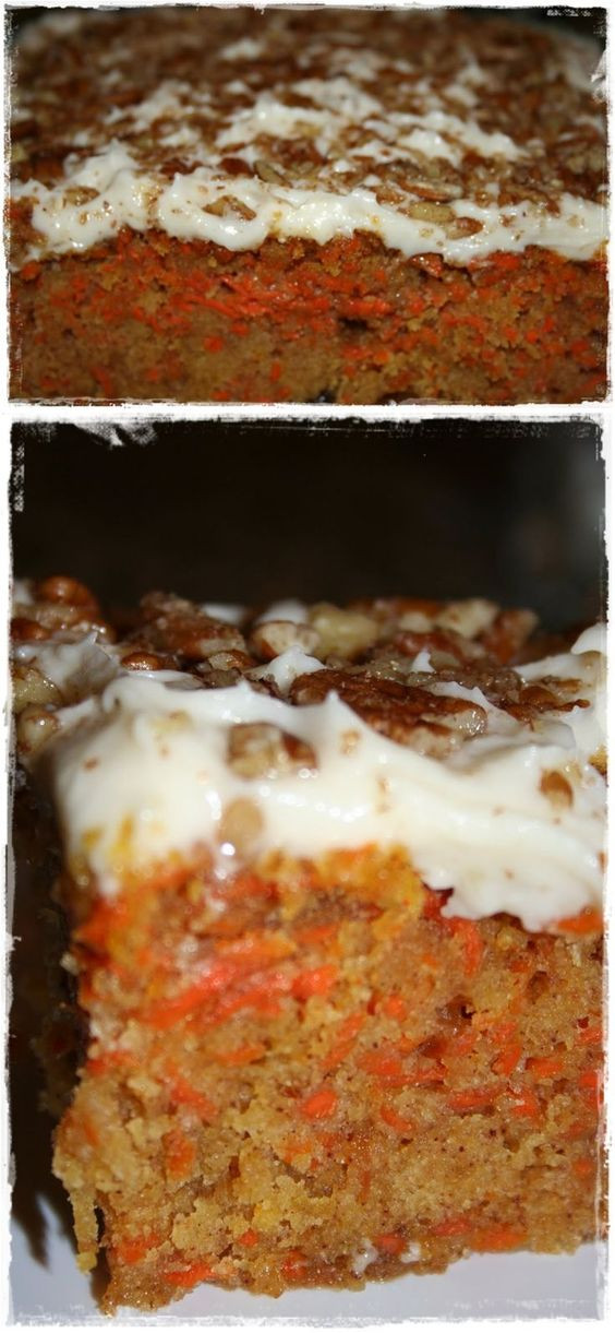 Low Fat Sugar Free Desserts  Low fat and low sugar carrot cake my favorite t