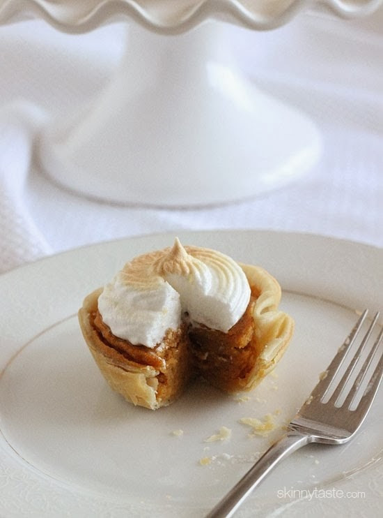 Low Fat Sweet Potato Pie  Mini Sweet Potato Meringue Pies