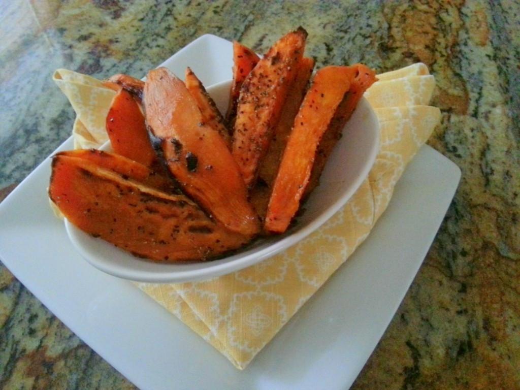 Low Fat Sweet Potato Recipes  Low Fat Sweet Potato Fries Adriana s Best Recipes