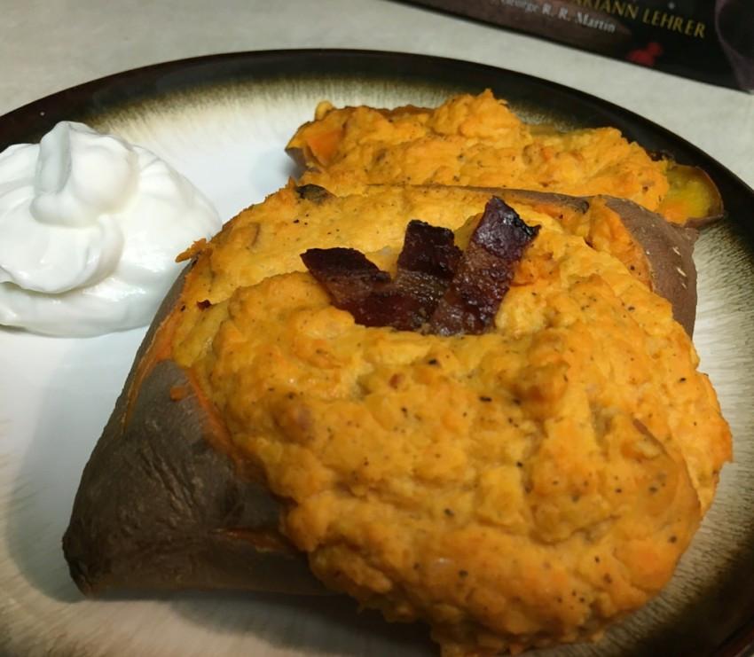 Low Fat Sweet Potato Recipes  Low Fat Twice Baked Sweet Potato Recipe