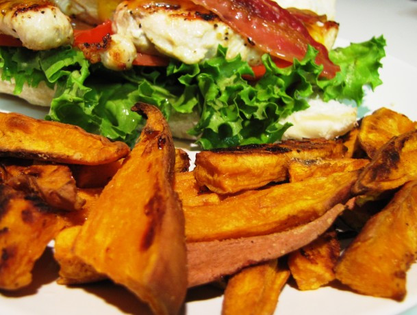 Low Fat Sweet Potato Recipes  Delish Sweet Potato fries Low Fat Recipe Food
